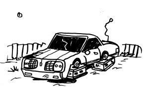 non running cars